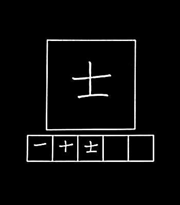 kanji pejuang militer