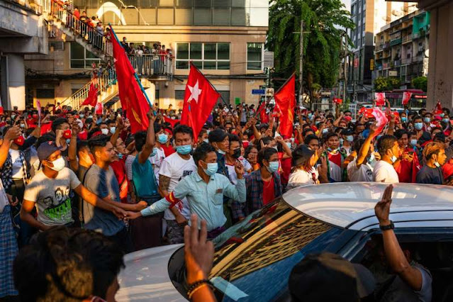 UK considers coup in Myanmar irreversible and dangerous for rising violence