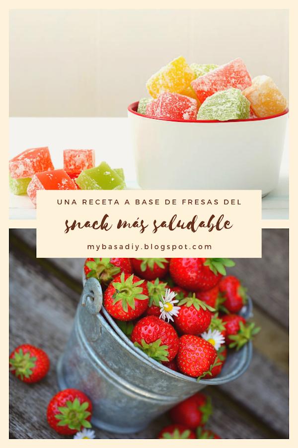 snacks chuches saludables lowcarb bajo carbohidratos receta frutas niños familia verano