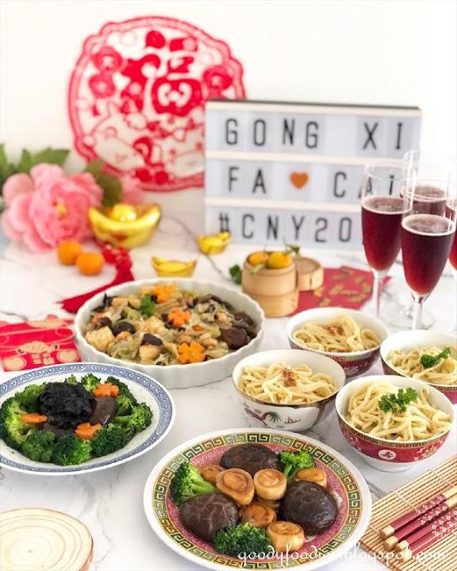 cny 2021 vegetarian food
