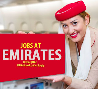 Emirates Airline Recruitment For Multiple Position For Ground Staff in  Dubai | All Nationality Can Apply