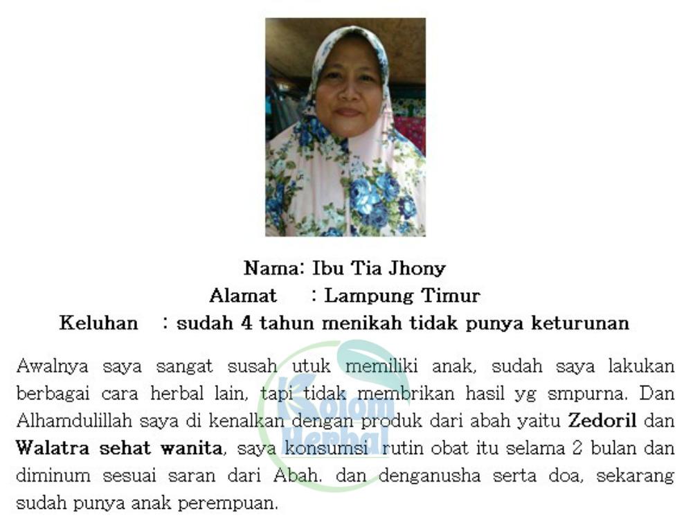 Khasiat Walatra Bersih Wanita Kapsul