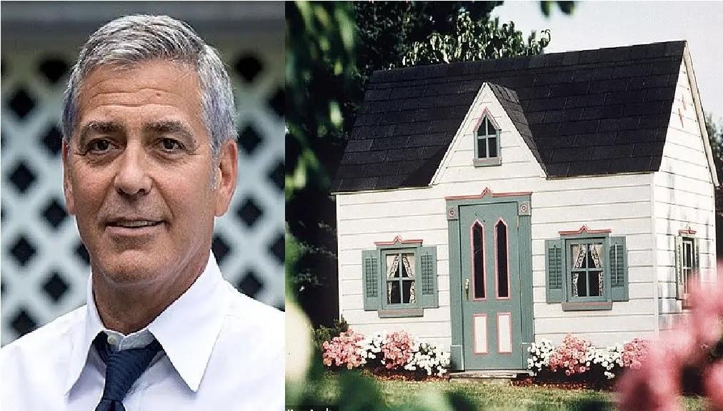 منزل بتكلفة 90 الف جنية استرلينى يلعب بداخله توأم أمل علم الدين وجورج كلوني