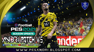 PES 2021 Andri Patch V5.0 AIO For PC