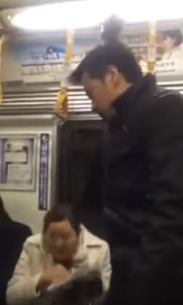 Jeric Raval Created Waves On Social Media After He Was Caught Doing THIS To An Old Lady In A Train In Japan!
