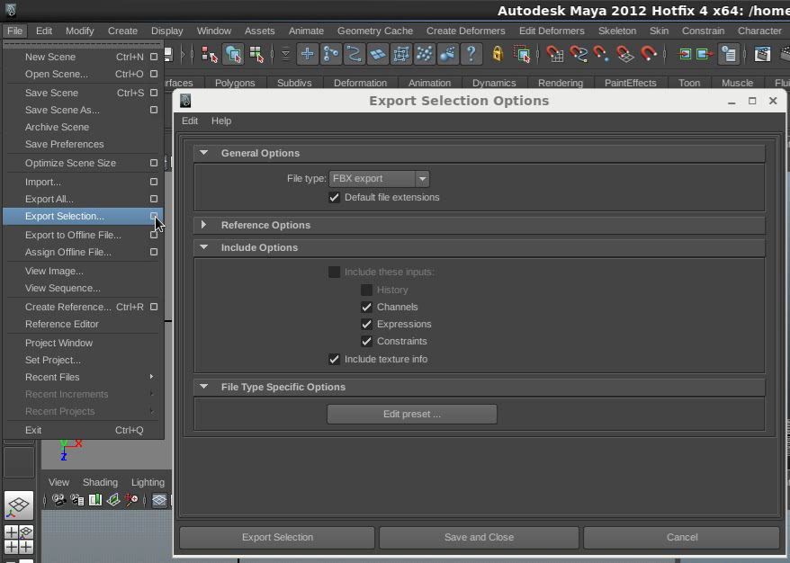 Nuke Tutorials and Tools: Export Maya camera and Objects to Nuke