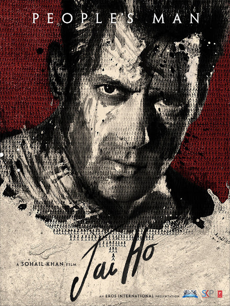 Poster of Jai Ho 2014 Full Movie [Hindi-DD5.1] 720p BluRay ESubs Download