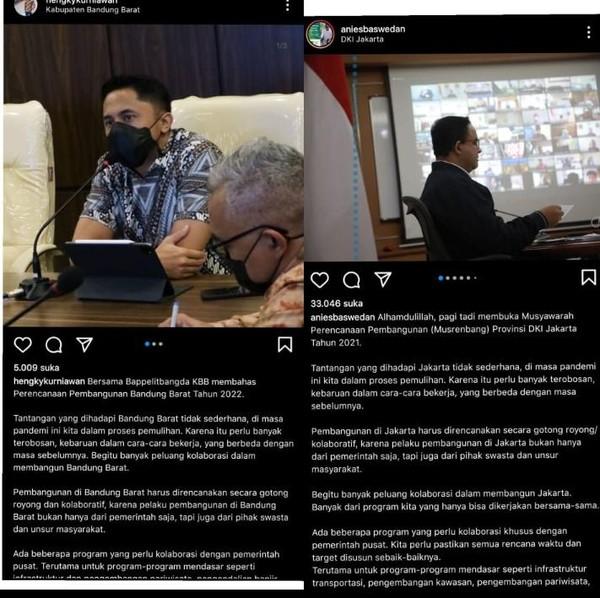 Hengky Kurniawan Copas Postingan Anies soal RPJMD?
