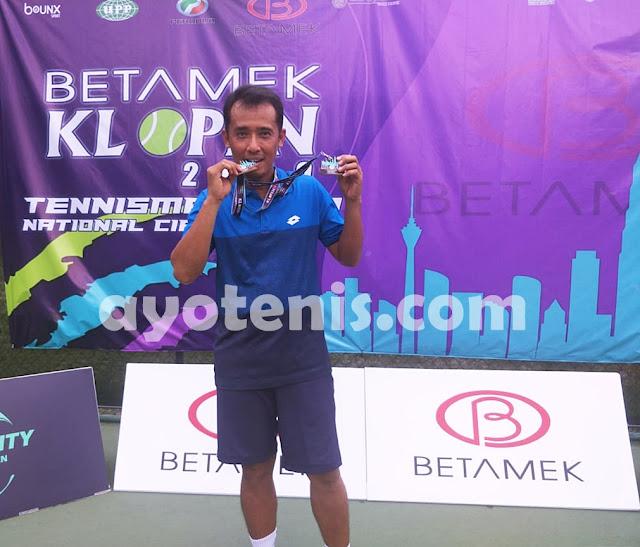 M Noor Iman Juara Kuala Lumpur Open Tennis Championship 2019