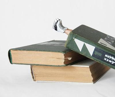 Diseño de separador de libros de fantasía