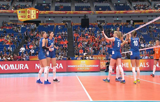 Women's Volleyball World Championship Biss Key Eutelsat 7A/7B 19 October 2018
