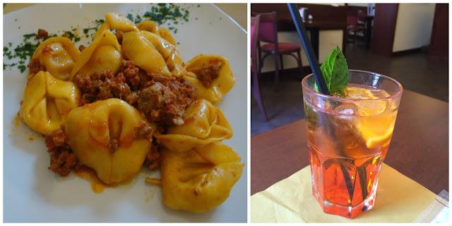O que comer em Ferrara - tortelli di zucca