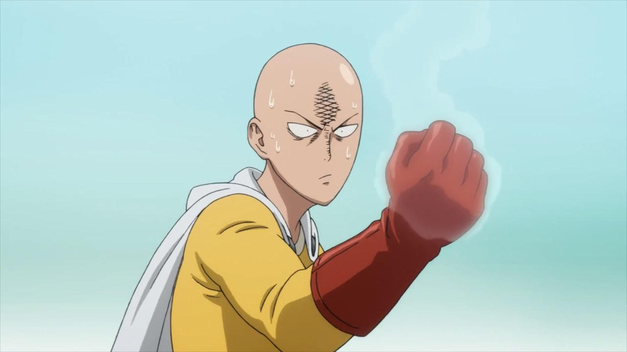 Saitama z anime One Punch Man
