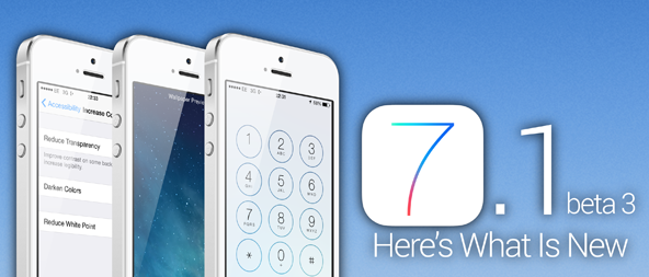 Apple iOS 7.1 Beta 3 IPSW Firmwares