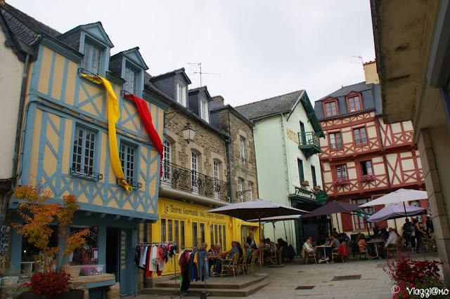 Il pittoresco centro storico di Josselin