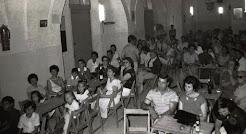 """El """"Casal d'Andalusia"""" a principis dels anys 80, als baixos del Casal de les Escodines. Fotografia: Arxiu Associació Cultural Casa de Andalucía en Manresa"""