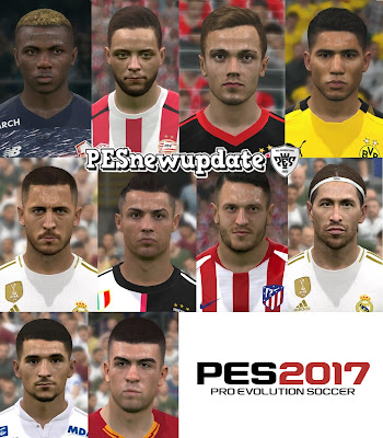 PES 2017 Facepack April 2020 by WER