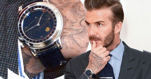 El reloj de David Beckham que vale más que un Ferrari ¡Y cuesta 250 mil dólares!