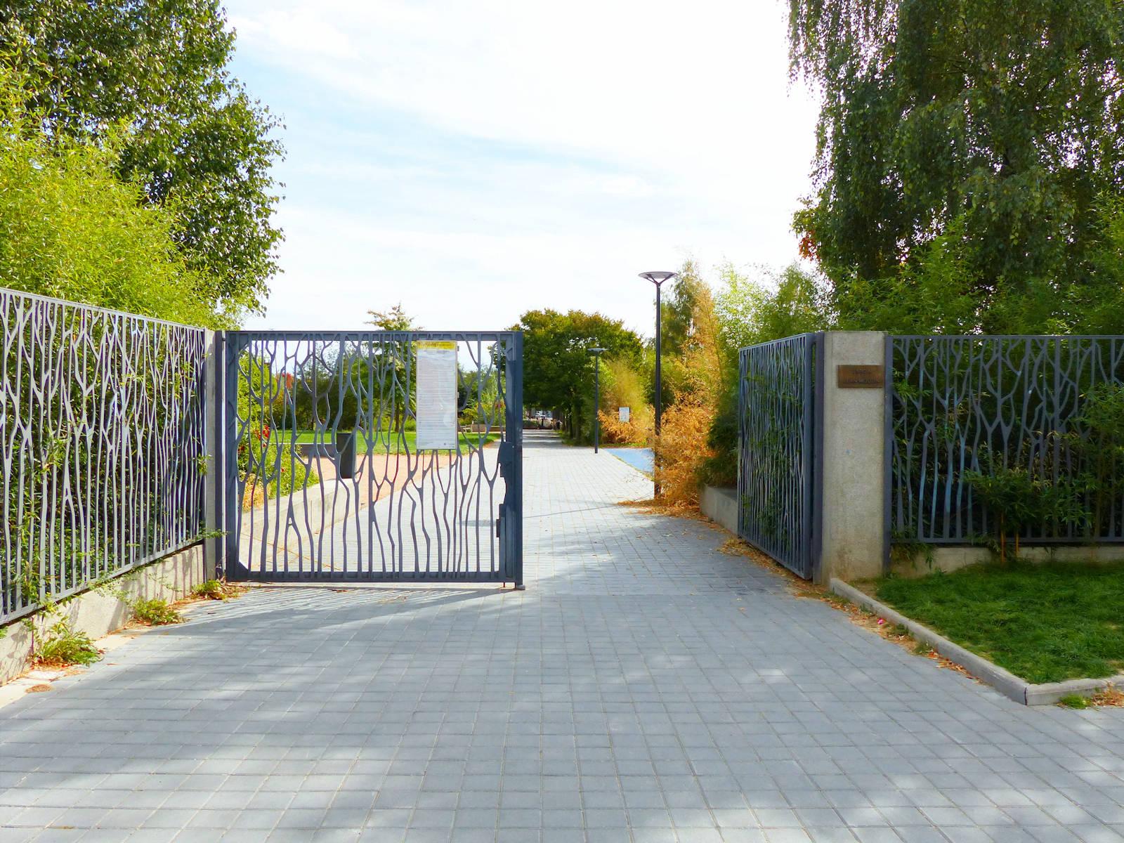 Tourcoing, Parc Jean Moulin - Entrée