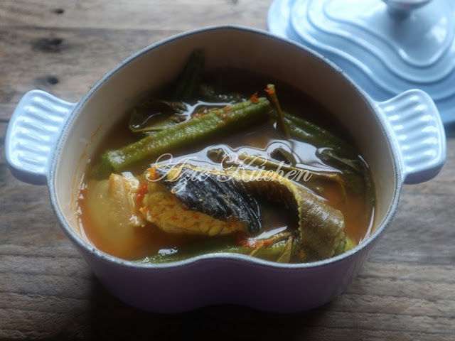 Asam Rebus Ikan Pari