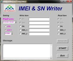 IMEI Sn Writer Tool v2.1132.0 Download Free