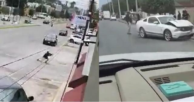 Video:  Así se enfrentan en Monclova, Coahuila Ministeriales abren fuego contra armados de Mustang Blanco