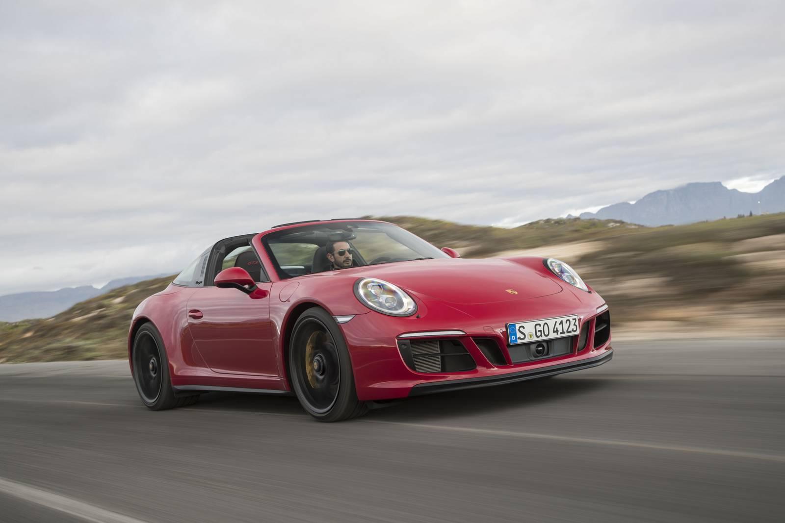 Przód Porsche 911 Targa 4 GTS