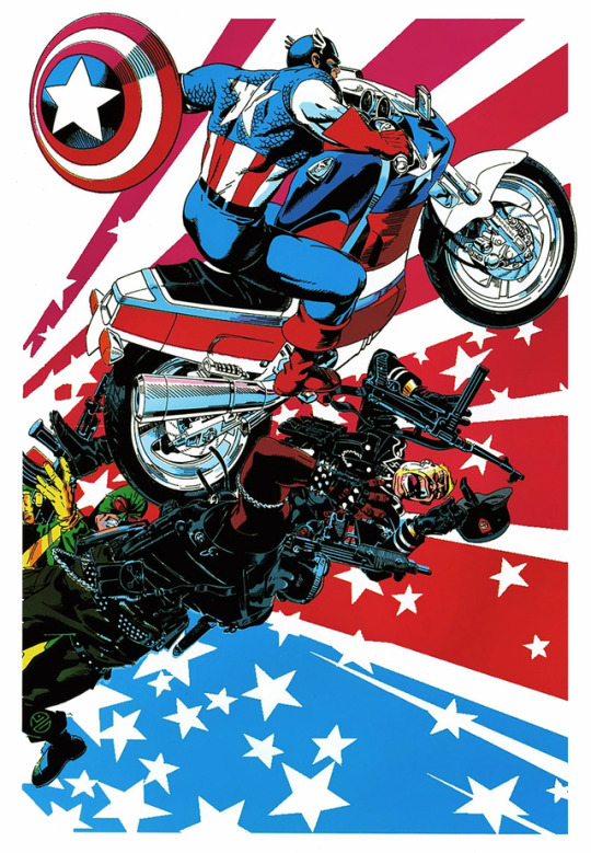 Captain America by Michael Golden