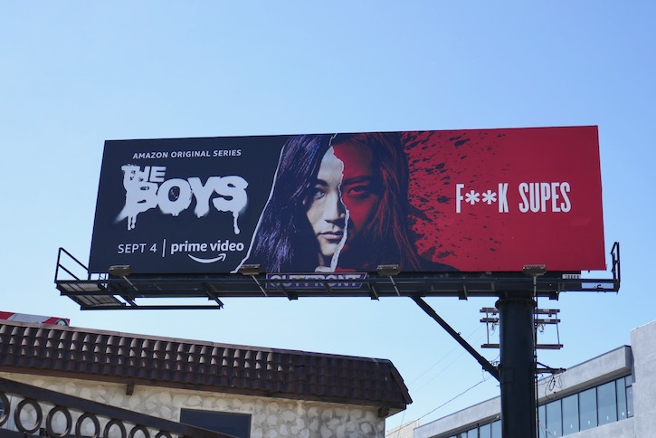 female Boys season 2 F**k Supes billboard