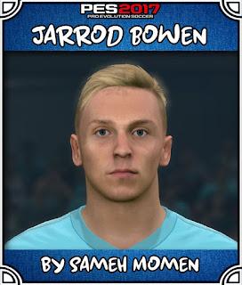 PES 2017 Faces Jarrod Bowen by Sameh Momen