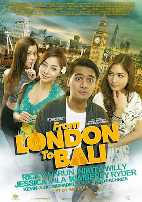 Poster Film From London to Bali
