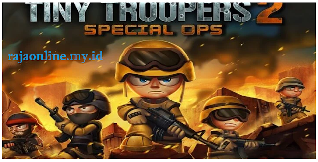 cara instal Tiny troopers 2mod apk unlimited money