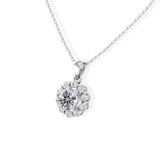 Mẫu dây chuyền kim cương sang trọng