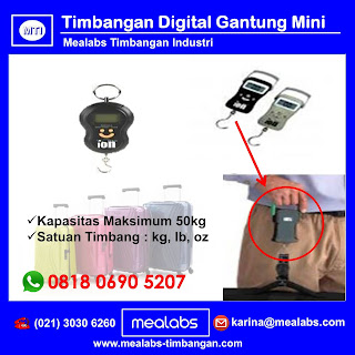 Timbangan Digital Gantung Mini (Hanging Scale)