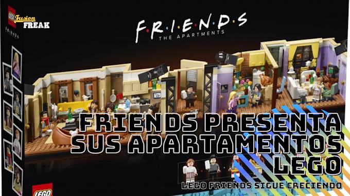 LEGO anuncia su nuevo set de Friends basado en los apartamentos de los protagonistas