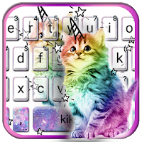 Colorful Cat Keyboard Theme Apk Download for Android