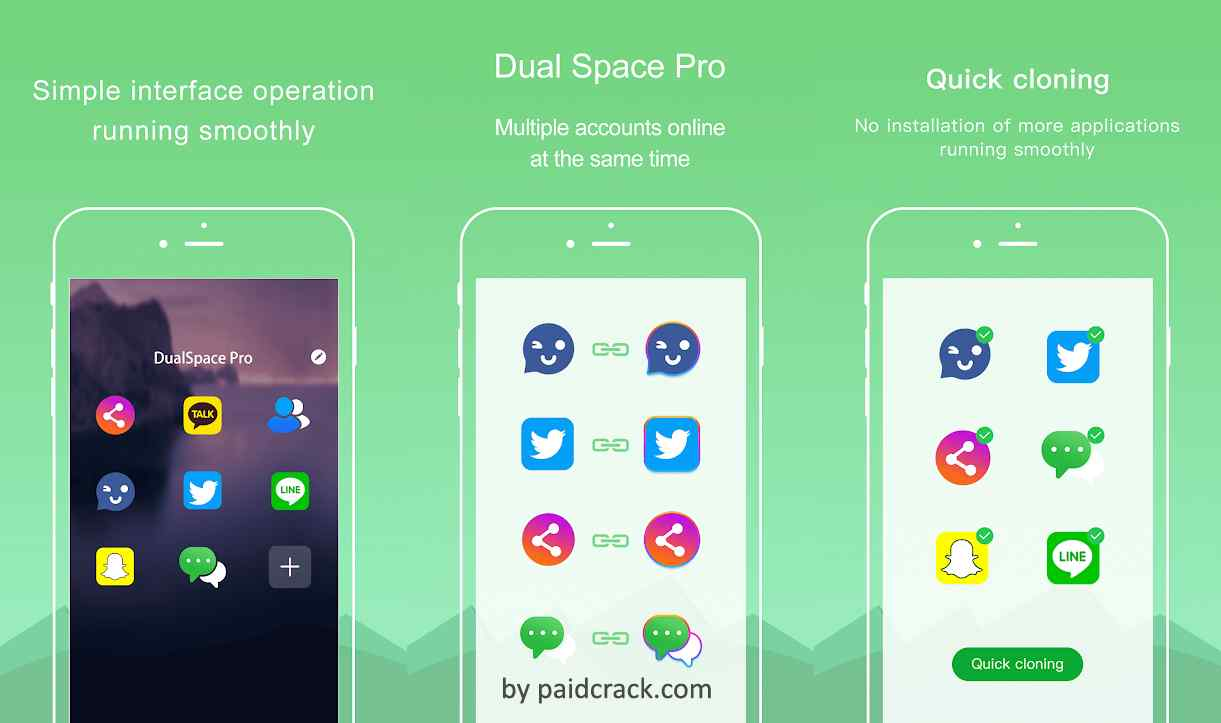 Dual Space Pro - Multiple Accounts & App Cloner Mod Apk 1.0.3
