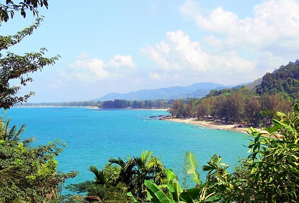 Andaman Coast seen from the south
