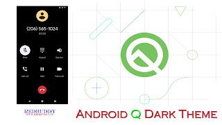 Android-Q-Dark-Theme