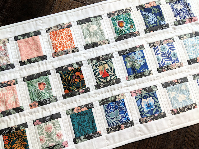 Liberty of London Hesketh House Spool Table Runner by Heidi Staples of Fabric Mutt