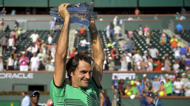 Roger Federer Won 5th Indian Wells Title
