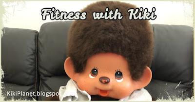 kiki Monchhichi fitness gym yoga Monday motivation kawaii humour