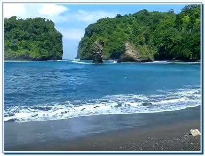 Pantai Licin Malang Selatan