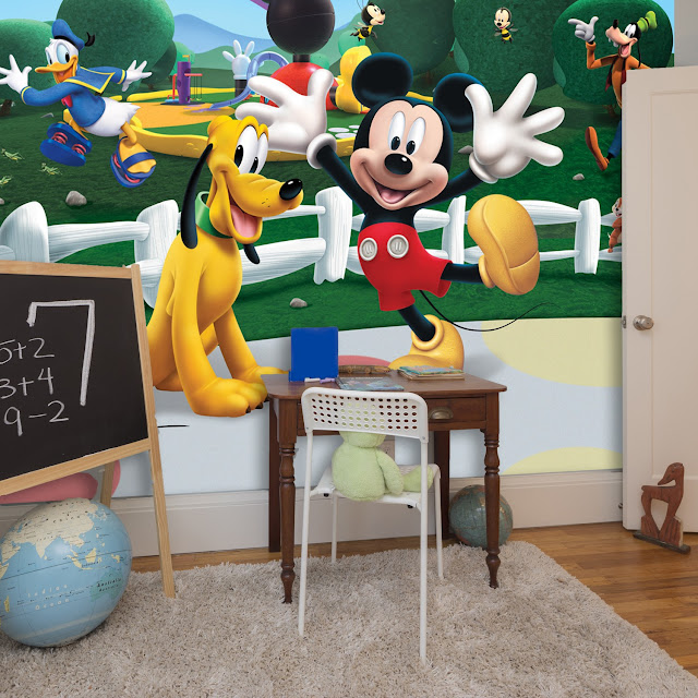 Valokuvatapetti Lapsia Disney Mikki Hiiri tapetti