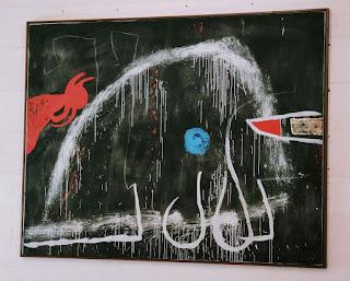 Cuadro surrealista del pintor Joan Miro