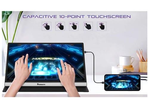 NAVISKAUTO 15.6 IPS UHD USB C HDMI Portable Monitor