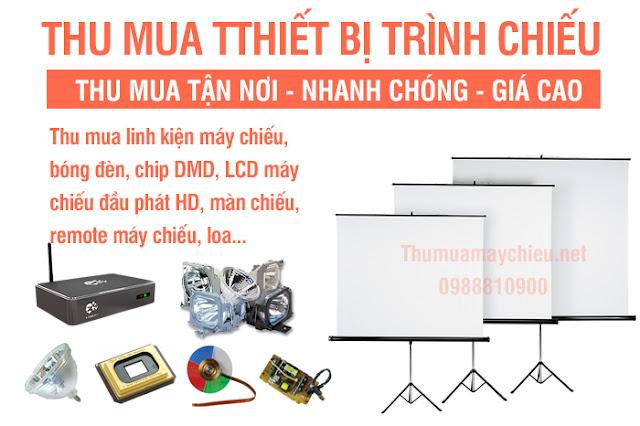 Thanh lý máy chiếu cũ giá cao tại tpHCM