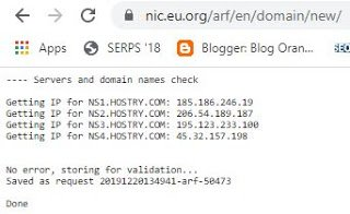 How to Get a Free eu.org Domain and How to Bustom Blogging