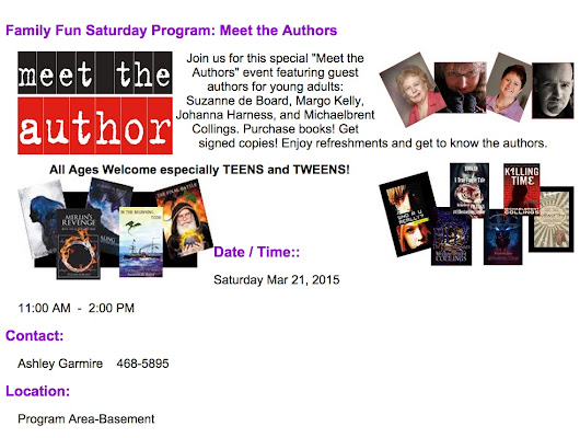 Meet the author!