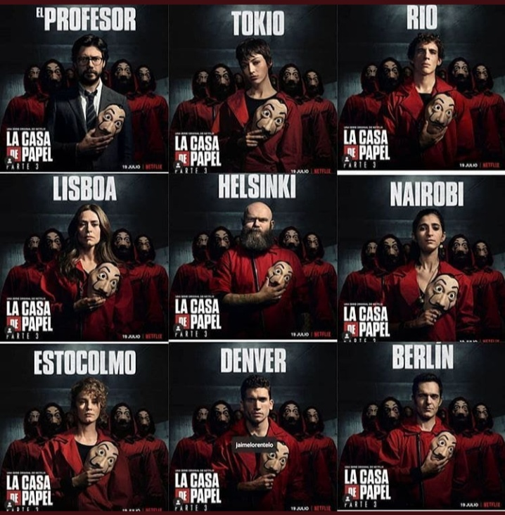 MONEY HEIST - SEASON 3 - The Stew Tv